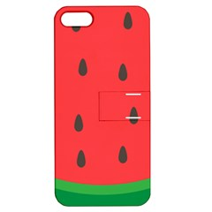 Watermelon Fruit Apple iPhone 5 Hardshell Case with Stand
