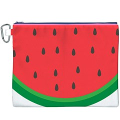 Watermelon Fruit Canvas Cosmetic Bag (XXXL)