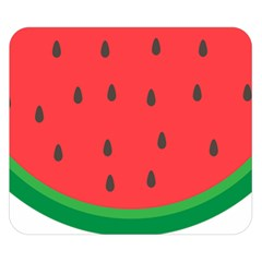 Watermelon Fruit Double Sided Flano Blanket (Small)