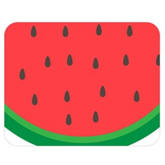 Watermelon Fruit Double Sided Flano Blanket (Medium)