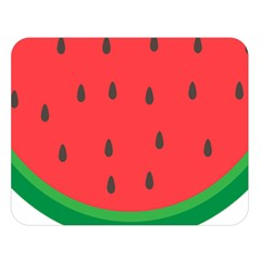 Watermelon Fruit Double Sided Flano Blanket (Large)