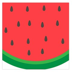Watermelon Fruit Large Satin Scarf (Square)