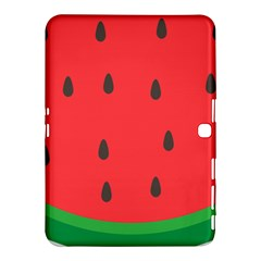 Watermelon Fruit Samsung Galaxy Tab 4 (10.1 ) Hardshell Case