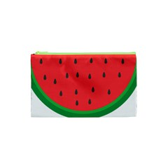Watermelon Fruit Cosmetic Bag (XS)