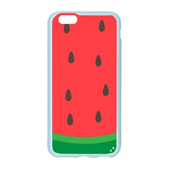 Watermelon Fruit Apple Seamless iPhone 6/6S Case (Color)