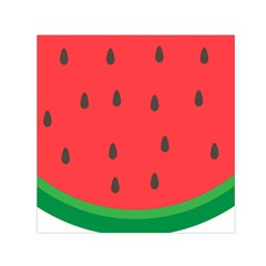 Watermelon Fruit Small Satin Scarf (Square)