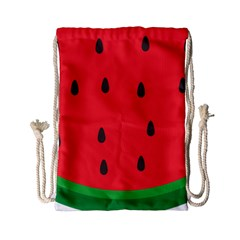 Watermelon Fruit Drawstring Bag (Small)