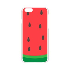 Watermelon Fruit Apple Seamless iPhone 6/6S Case (Transparent)