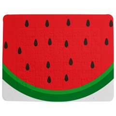 Watermelon Fruit Jigsaw Puzzle Photo Stand (Rectangular)