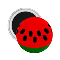 Watermelon Melon Seeds Produce 2.25  Magnets