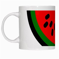 Watermelon Melon Seeds Produce White Mugs