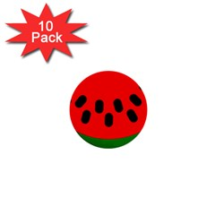 Watermelon Melon Seeds Produce 1  Mini Buttons (10 pack)