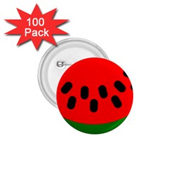Watermelon Melon Seeds Produce 1.75  Buttons (100 pack)