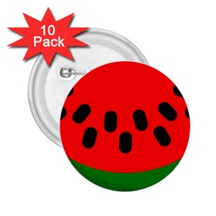 Watermelon Melon Seeds Produce 2.25  Buttons (10 pack)