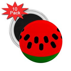 Watermelon Melon Seeds Produce 2.25  Magnets (10 pack)