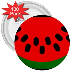 Watermelon Melon Seeds Produce 3  Buttons (100 pack)