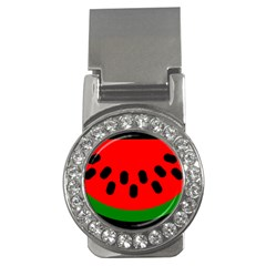Watermelon Melon Seeds Produce Money Clips (CZ)