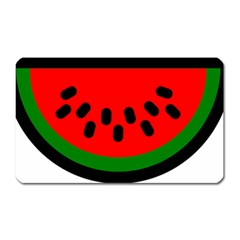 Watermelon Melon Seeds Produce Magnet (Rectangular)