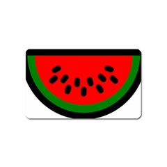 Watermelon Melon Seeds Produce Magnet (Name Card)