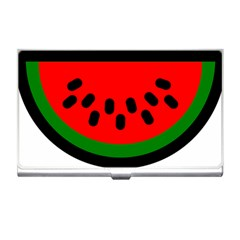 Watermelon Melon Seeds Produce Business Card Holders