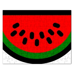 Watermelon Melon Seeds Produce Rectangular Jigsaw Puzzl