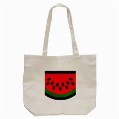 Watermelon Melon Seeds Produce Tote Bag (Cream)