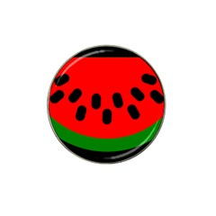 Watermelon Melon Seeds Produce Hat Clip Ball Marker (4 pack)