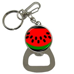 Watermelon Melon Seeds Produce Bottle Opener Key Chains