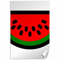 Watermelon Melon Seeds Produce Canvas 20  x 30