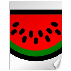 Watermelon Melon Seeds Produce Canvas 36  x 48