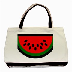 Watermelon Melon Seeds Produce Basic Tote Bag (Two Sides)