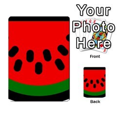 Watermelon Melon Seeds Produce Multi-purpose Cards (Rectangle)