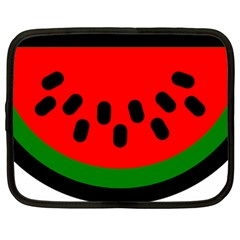 Watermelon Melon Seeds Produce Netbook Case (Large)
