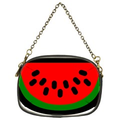 Watermelon Melon Seeds Produce Chain Purses (One Side)