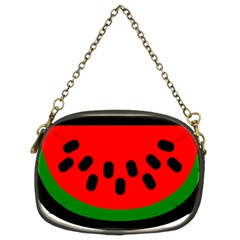 Watermelon Melon Seeds Produce Chain Purses (Two Sides)