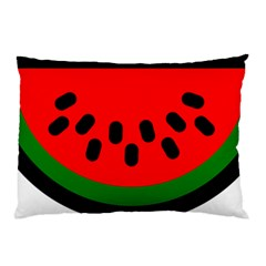 Watermelon Melon Seeds Produce Pillow Case