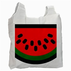 Watermelon Melon Seeds Produce Recycle Bag (One Side)