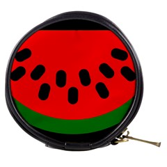 Watermelon Melon Seeds Produce Mini Makeup Bags