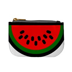 Watermelon Melon Seeds Produce Mini Coin Purses