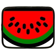 Watermelon Melon Seeds Produce Netbook Case (XL)