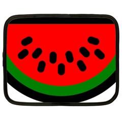 Watermelon Melon Seeds Produce Netbook Case (XXL)