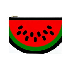 Watermelon Melon Seeds Produce Cosmetic Bag (Large)