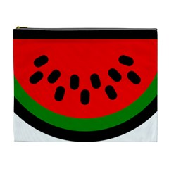 Watermelon Melon Seeds Produce Cosmetic Bag (XL)
