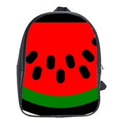 Watermelon Melon Seeds Produce School Bags(Large)