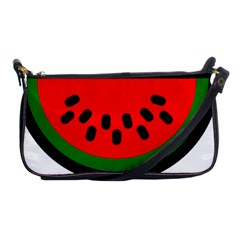 Watermelon Melon Seeds Produce Shoulder Clutch Bags