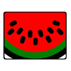 Watermelon Melon Seeds Produce Fleece Blanket (Small)