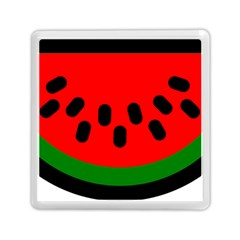 Watermelon Melon Seeds Produce Memory Card Reader (Square)