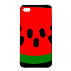 Watermelon Melon Seeds Produce Apple iPhone 4/4s Seamless Case (Black)