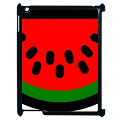 Watermelon Melon Seeds Produce Apple iPad 2 Case (Black)