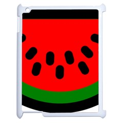 Watermelon Melon Seeds Produce Apple iPad 2 Case (White)